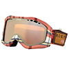Gogle Roxy SUNSET ART Pink Plaid / Amber Rose Super Silver Mirror MLR0 2015